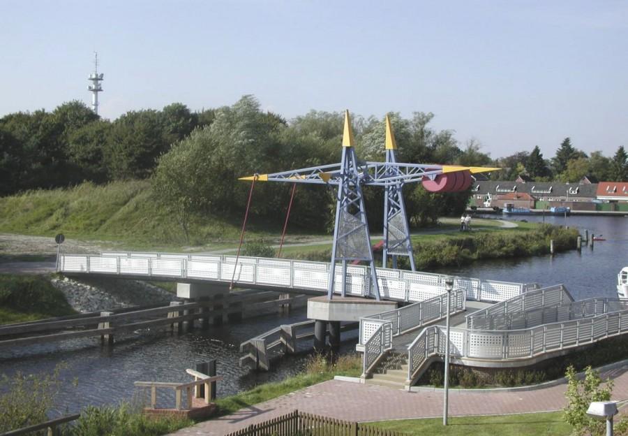 Brücke Ems-Jade-Kanal Aurich