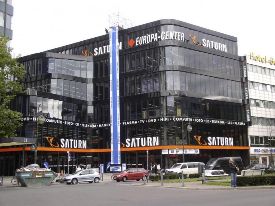 Teilabbruch und -neubau des Europacenters in Berlin